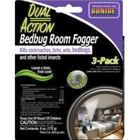 Bonide Products  - Dual Action Bed Bug Room Fogger--2 Oz/3 Pk