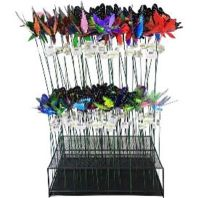 Exhart - Windywings Plant And Garden Stake Assort Display - Assorted - 80 Piece