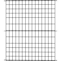 Panacea Products - Multi-Purpose Grid Fence Panel - Black - 42 X 36