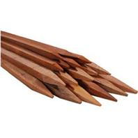 Bond Manufacturing - Packaged Hardwood Stakes-Natural-5 Foot/6 Pack