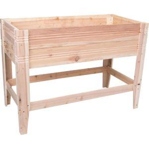 Bond Mfg - Raised Planter Box Cedar - Natural