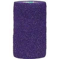 Animal Supplies International - Wrap-It-Up Flex Bandage - Purple - 4 Inch x 5 Yard