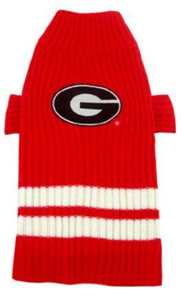 DoggieNation-College - Georgia Bulldogs Dog Sweater - Medium