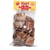 Smokehouse Dog Treats - Usa Made Beef Munchies - Beef - 1 Lb / Large