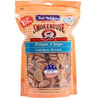 Smokehouse Dog Treats - Usa Prime Chips Dog Treats Resealable Bag - Chicken Breast - 16 oz