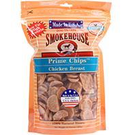 Smokehouse Dog Treats - Usa Prime Chips Dog Treats Resealable Bag - Chicken Breast - 16 oz