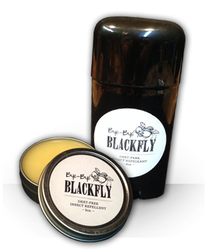 Carpe Insectae - Bye Bye Black Fly 12 - 2 oz tins
