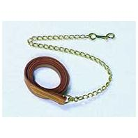 Beiler's Manufacturing - 201 Lead with Chain - Brown - 6 Feet
