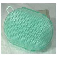 Imported Horse Supply - Gel Scrubbies - Green - 6 Inch