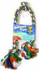 Booda - 3 Knot Rope Tug Dog Toy - Multi Colred - X Large