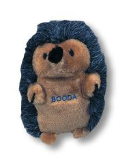 Booda - Soft Bites Hedgehog Dog Toy