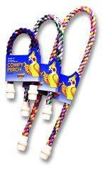 Booda - Comfy Perch Medium Cable Perch For Birds - 34X1.3X1.3 Inch