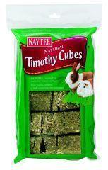 Kaytee Products - Natural Timothy Cubes - 1 Lb