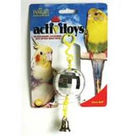 JW Pet - Disco Ball Bird Toy