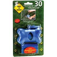 Bramton - Bags On Board Bone Dispenser - Blue - 30 Bags