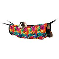 Super Pet - Ferret Hanging Play Tunnel - Assorted - 6 Inch