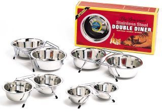 Ethical Dishes - Stainless Steel Double Diner - 2 Quart