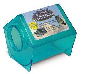 Super Pet - Chinchilla Bath House - Assorted