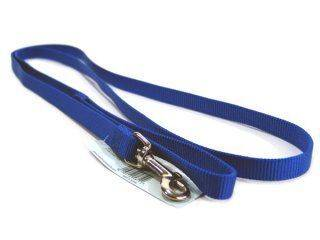 Hamilton Pet - Single Thick Nylon Lead with Swivel Snap - Blue - 5/8 Inch x 6 Feet
