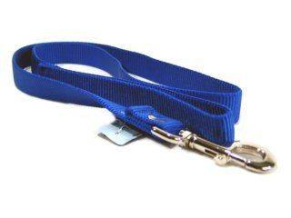 Hamilton Pet - Single Loop Nylon Lead with Swivel Snap - Blue - 1 x 4 Feet