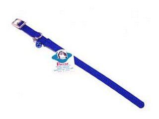 Hamilton Pet - Braided Safety Nylon Cat Collar - Blue - 0.38 Inch x 10 Inch