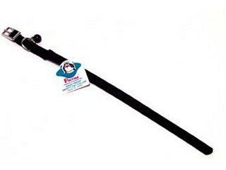 Hamilton Pet - Braided Safety Nylon Cat Collar - Black - 0.38 Inch x 12 Inch