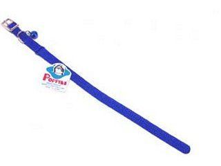 Hamilton Pet - Braided Safety Nylon Cat Collar - Blue - 0.38 Inch x 12 Inch