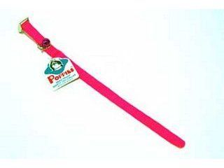 Hamilton Pet - Braided Safety Nylon Cat Collar - Hot Pink - 10 X 3/8 Inch
