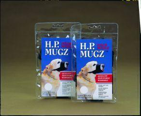 Hamilton Pet - Soft Dog Muzzle - Black - 8-1/2 to 9 Inch