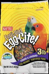 Kaytee Products - Conure Fortidiet Eggcite - 3 Lb