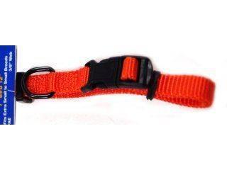 Hamilton Pet - Adjustable Dog Collar - Mango - 3/8 x 7-12 Inch