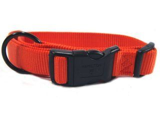 Hamilton Pet - Adjustable Dog Collar - Mango - 1 x 18-26 Inch