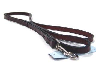 Hamilton Leather - Leather Lead - Burgundy - 1/2 Inch x 6 Feet