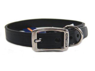 Hamilton Leather - Creased Leather Collar - Black - 3/4 x 20 Inch