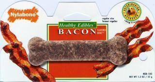 Nylabone - Healthy Edibles Bacon Bone - Regular