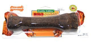 Nylabone - Healthy Edibles BBQ Chicken Bone - Souper