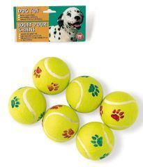 Ethical Dog - Tennis Ball Value Pack - 6 Pack