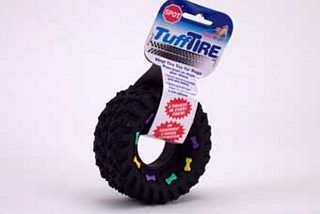 Ethical Dog - Squeaky Vinyl Tire - 3.5 Inch