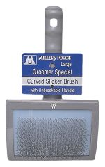 Millers Forge - Curved Slicker Brush - Large