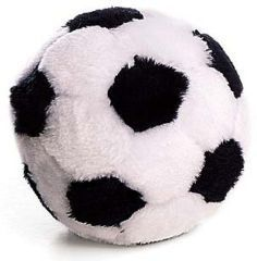Ethical Dog - Plush Soccer Ball Dog Toy - 5 Inch