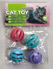 Ethical Cat - Slotted Balls - 4 Pack
