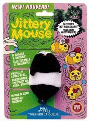 Ethical Cat - Plush Jittery Mouse - 3 Inch
