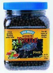 Zoo Med - Natural Aquatic Turtle Food Growth Formula - 13 oz