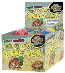 Zoo Med - Hermit Crab Neon Shells - Assorted - 36 Piece