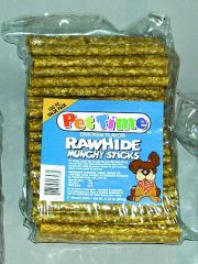 IMS Trading Corp - Rawhide Chicken Munchy Sticks - 5 Inch - 100 Pack