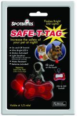Ethical Dog - Safe-T Tag Bone Shape Led Id
