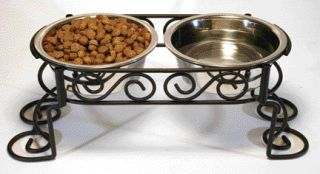 Ethical Dishes - Ss Scroll Work Double Diner - Stainless Steel - Quart