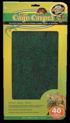 Zoo Med - Eco Carpet Reptile Terrarium Liner - Green / Brown 40 Gallon