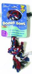 Booda - 2 Knot Rope Bone Dog Toy - X-Small
