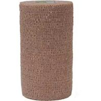 Andover Healthcare - Coflex-Vet Cohesive Bandage - Tan - 4 Inch x 5 Yard